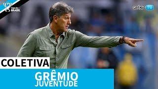 [COLETIVA] Pós-Jogo - Grêmio 3x0 Juventude (Copa do Brasil 2019) l GrêmioTV