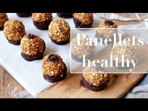Panellets saludables -