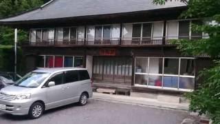 湯岐温泉(福島県)岩風呂