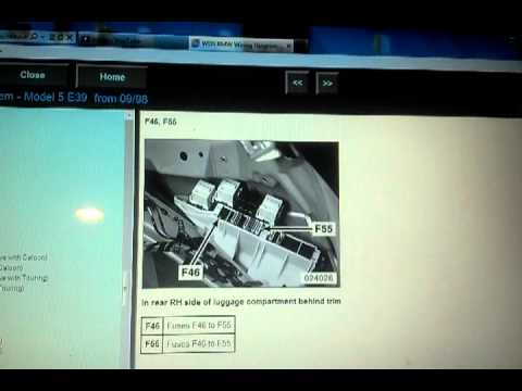 I Fuse Diagram Bmw 5 Series E39 Remote Not Working And Reset Procedure
