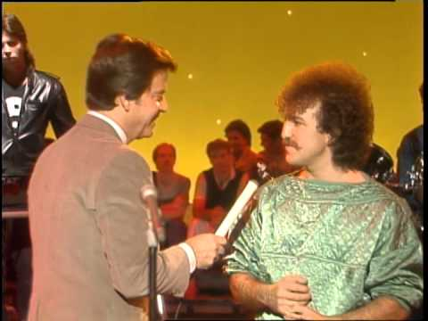 Dick Clark Interviews Matthew Wilder on American Bandstand 1984