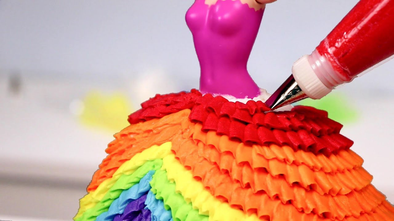 10 AMAZING PRINCESS Dress CAKES