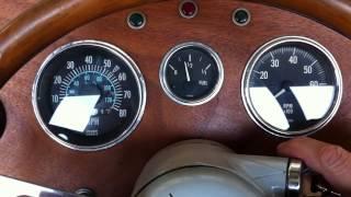 1939 Jaguar Replica - Weber Tuning  - Start Hot