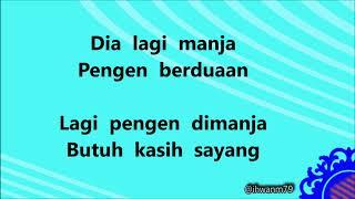 Lirik lagu LAGI MANJAH Mimi Peri  feat. RPH & Dilza