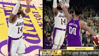 SCORING 100+ POINTS ON HALL OF FAME!! NBA 2k19 MyCAREER Ep. 43