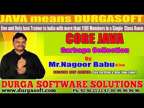 Core Java   Garbage Collectionby Nagoor Babu Sir