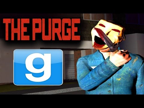 GMOD - THE PURGE ELECTION YEAR!! Garry's Mod SCARY HUNGER GAMES!! | (GMOD Gameplay)