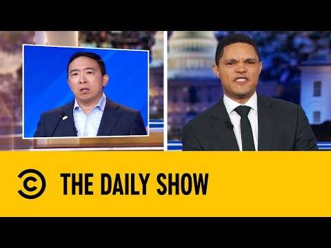 Andrew Yang Appeals To Voters With Cold Hard Cash   The Daily Show With Trevor Noah