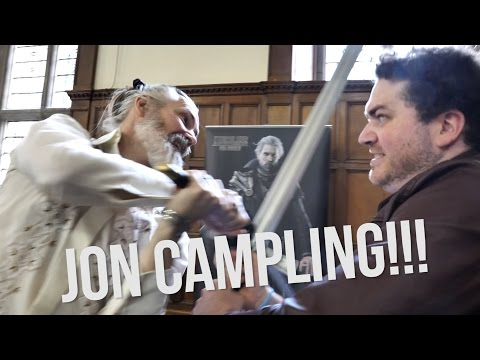 'Battling King Regis!' Jon Campling Interview - Oxford Comic Con 2017
