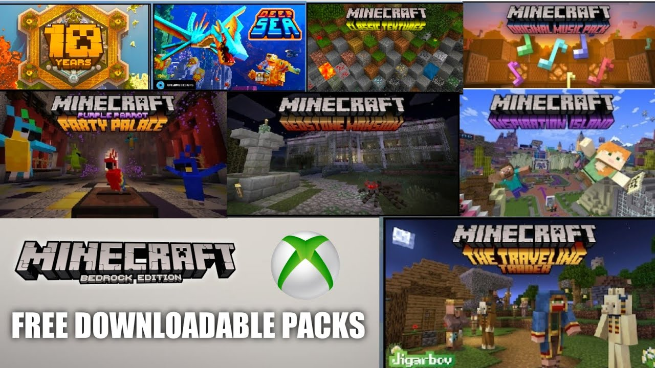 ✓All Free Downloadable Packs In Minecraft Marketplace  Zenon