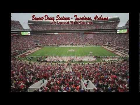 HD Time Lapse: Bryant-Denny Stadium - Tuscaloosa, AL