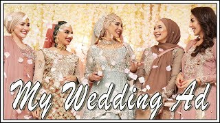 Vlog | My Wedding Ad With Al Maidah | Ad | Amena