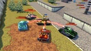 ИЗИДА-шоу в Песочнице :) игра Танки Онлайн / Tanki Online - ISIDA show on the Sandbox / tank games