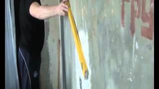 Находим самый большой бугор на кривой стене(http://rykinekruki.ru/videouroki/videourok-nahodim-samyiy-bolshoy-bugor-na-krivoy-stene/ Если у Вас дома кривые стены, то Вы научитесь определять..., 2012-05-09T06:15:02.000Z)