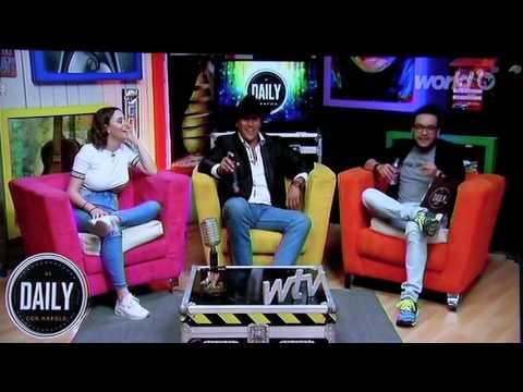 WorldTV Programa Daily Entrevista  El Bravo de México