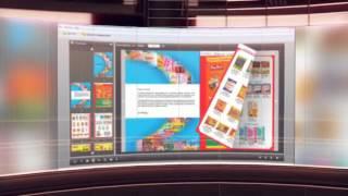 eFlip Standard is cool flipbook software for making modern digital publications