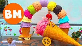 Мороженое с БЕКОНОМ, ЛУКОМ, ТОМАТАМИ, СЫРОМ и КАРТОШКОЙ почти как ЧЕЛЛЕНДЖ