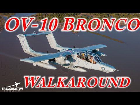 OV-10 Bronco Walkaround Fort Worth Aviation Museum