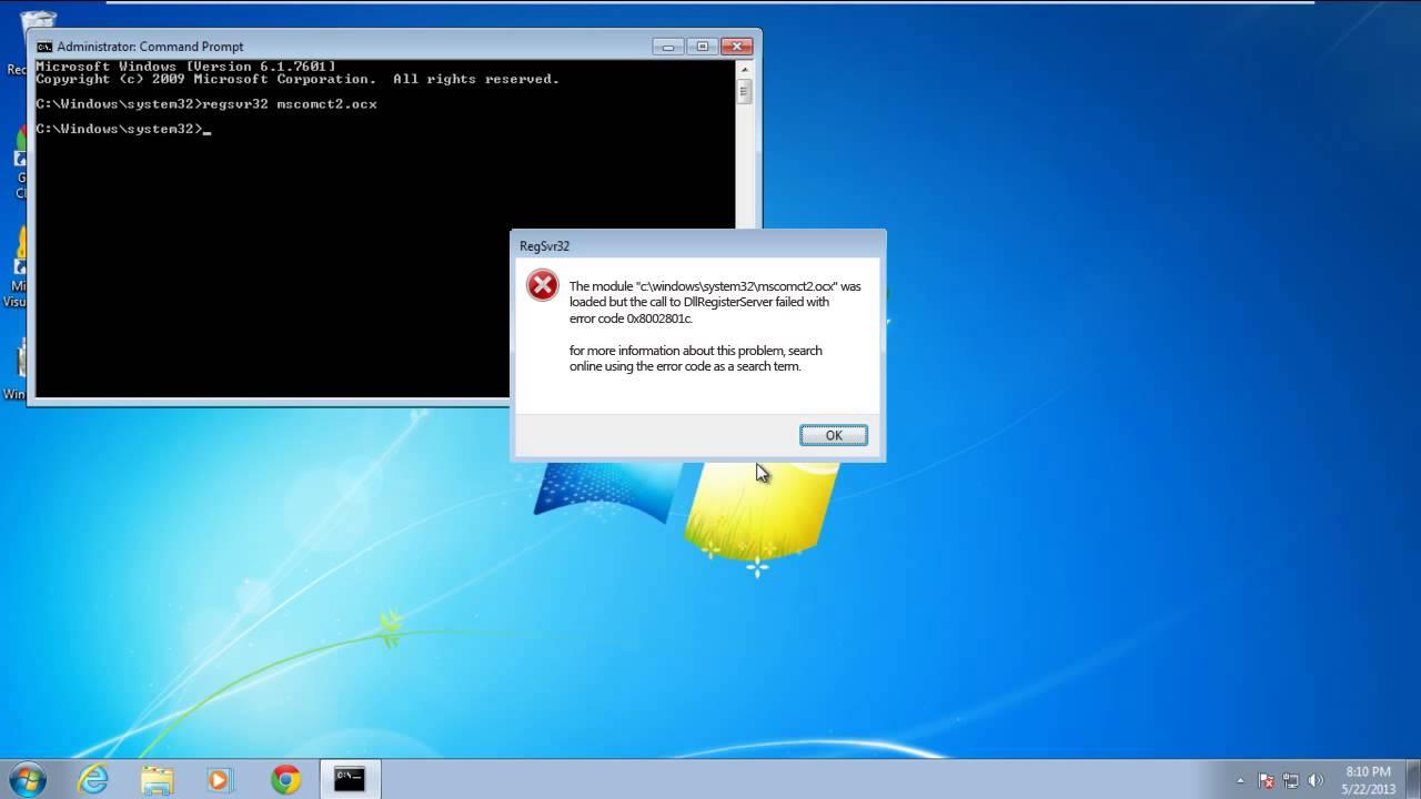 How to Fix Windows Stop Error 0x8002801c