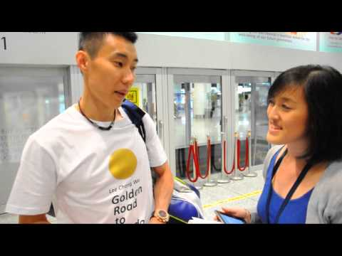 SGB Exclusive Interview with Dato' Lee Chong Wei | London 2012 Olympic Games [TianChad.com]