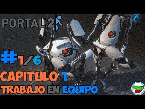 Portal 2 Cooperativo Guia | Capitulo 1 | Mision 1 | En Español 1080p