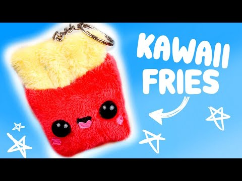 diy fries plush keychain *kawaii*