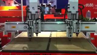 Double Heads Double Switch Super Star Cnc Router Elva@cncrouter.cn