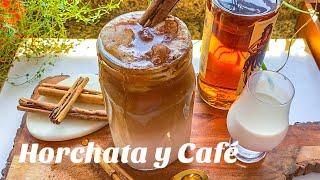 Agua de Horchata con Café 🙌🏻 CREMOSITA Y FÁCIL !!!