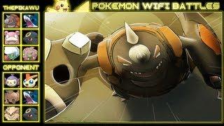 Fear the Rhyperior! (Pokemon Black and White UU Wifi Battle)
