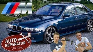 BMW E39 Stoßstange auf M-Paket M5 Stoßstange umbauen | Auto Tutorial