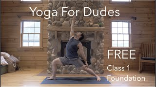 FREE! Yoga for Dudes, Class 1