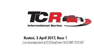 2017 Rustavi, TCR Round 1 in full