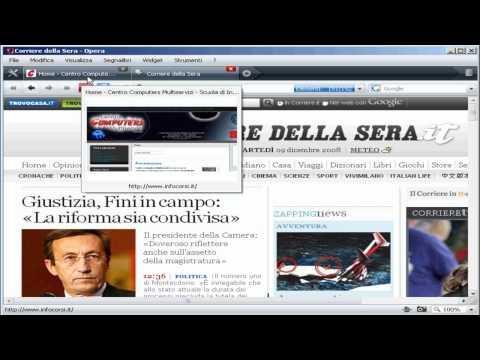 Opera Web Browser - Navigare in internet con Opera - tutorial