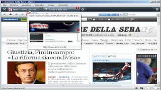 Opera Web Browser - Navigare in internet con Opera - tutorial - www.infocorsi.it