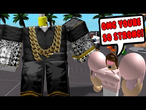 BECOMING THE STRONGEST PLAYER IN ROBLOX!