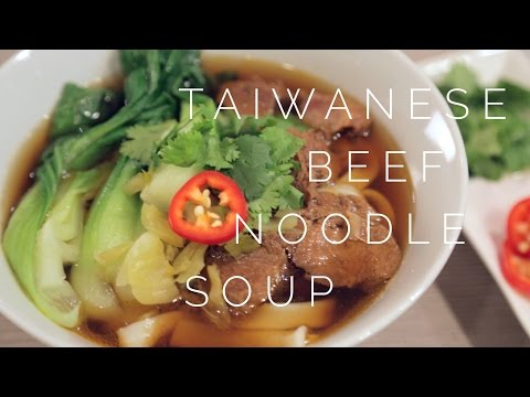 Slow Cooker Taiwanese Beef Noodle Soup Recipe (牛肉麵)