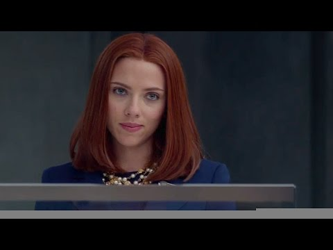 Captain America: The Winter Soldier - Black Widow Reveals Her Secrets - Extended Scene