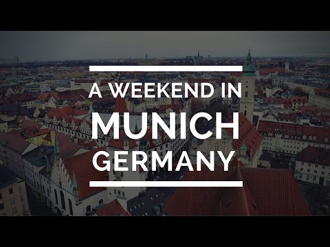3 Days in Munich | Travel VLOG