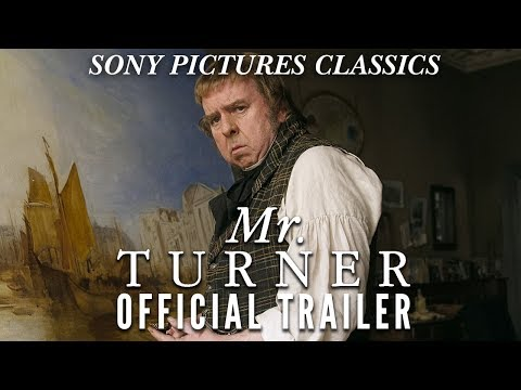Film trailer for Mr Turner, 2014