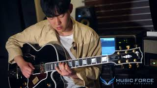 [MusicForce] Gibson Custom Archtop L-5 CES Demo - Guitarist 조창현 'But Not For Me'