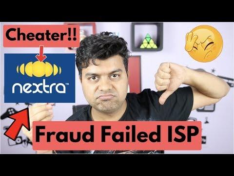 Nextra Broadband Fraud, Steals Consumer Money, Biggest Fraud ISP India