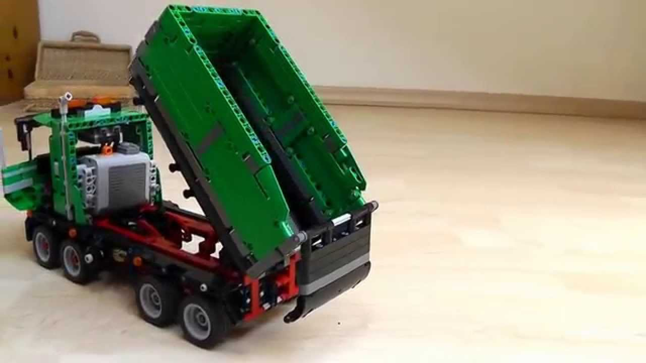 42008 lego technik kipper version 1 youtube. Black Bedroom Furniture Sets. Home Design Ideas