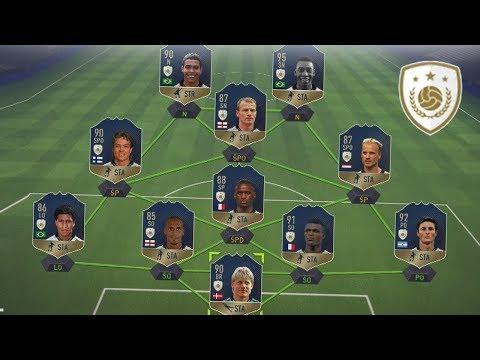 FIFA 18 - PIERWSZY SKŁAD IKON NA ŚWIECIE!
