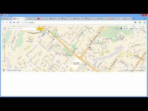 Создание Яндекс карты с помощью конструктора