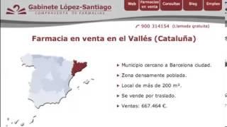 Farmacia en venta en Cataluña (zona Vallés)