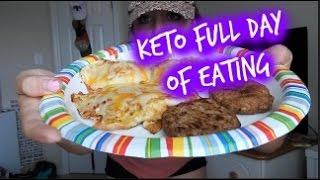 KETO FULL DAY OF EATING    SHOULDER & HIIT CIRCUIT