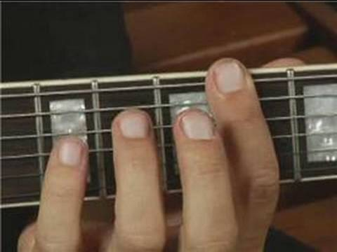 Root Position of Bb Major Guitar Chord on All Strings : Guitar Chord ...