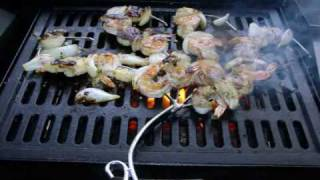 How To Make Shrimp & Scallop Kabobs On The Grill