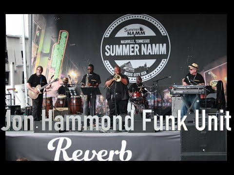 Jon Hammond Funk Unit Reverb Stage