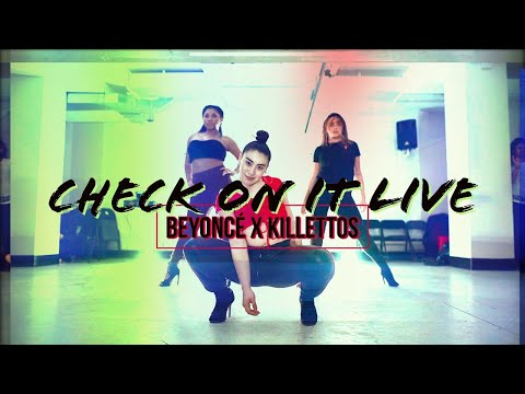 BEYONCE | Check on it LIVE | Chris Gayle Choreography